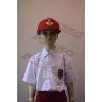 Baju Lengan Pendek Atasan SD - Seragam Sekolah Resko