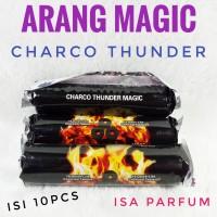 Arang magic CHARCO THUNDER -bara - areng -Shisha Charcoal Briket Buhur