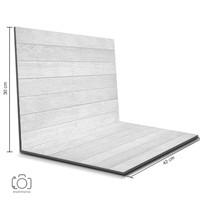 Alas Foto Lipat Kayu Putih 42x30 cm / Background Foto Olshop (WDL-01)