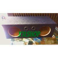 "BOX SPEAKER 6"" 6 INCHI SUBWOOFER KARPET DOUBLE"