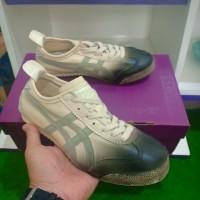 Sepatu Pria Terlaris Asics onitsuka tiger mexican Original leather JPN - Abu-abu, 36