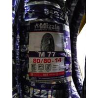 Ban Motor Mizzle 80/80-14 Ring 14 M77 Tubeless Murah & Original