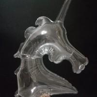 Balon Bobo Unicorn transparant ( Balon only tanpa lampu led )