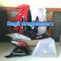 fairing set new ninja rr merah batik 2013