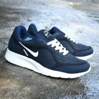Sepatu Nike Airmax Pria Dewasa Navy Biru Running Olahraga Sekolah