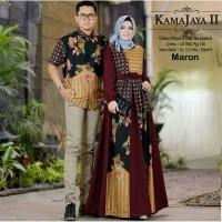 baju couple fashion muslim gamis syari pakaian wanita batik cantik