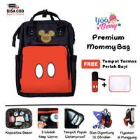 YooBerry Premium Mommy Bag Tas Perlengkapan Bayi Backpack Multifungsi