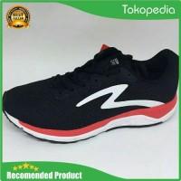 Sepatu Running Specs Dual Enduro Black Emperor Red White - Trend