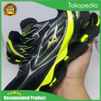 Sepatu Volly Mizuno Wave Prophecy 6 Blacj Yellow Murah - Diskon