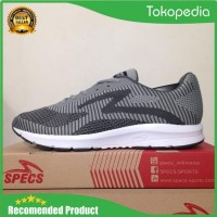 Sepatu Running/Lari Specs Overdrive Ash Grey 200530 Original Bnib -