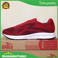 Sepatu Running/Lari Specs Overdrive Emperor Red 200531 Original Bnib -