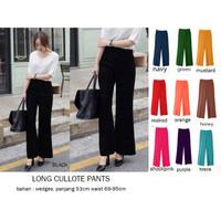 Long Wide Pants / Kulot panjang / Maxi Kulot / Cullote