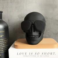 Wireless Speaker / Speaker Bluetooth Model Skull Face - Tengkorak