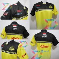 Jersey Kaos Baju Gaming ONIC MLBB, PUBGM, free nick+STICKER - S
