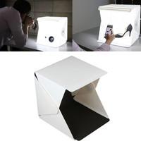 Mini Photo Studio Box Folding Kotak Tempat Foto Portable LED fotografi