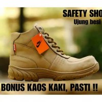 Sepatu Pria NIKE Grand Safety Shoes Boots Tactical