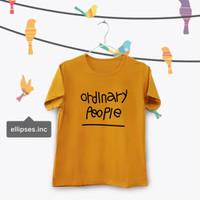 Tumblr Tee / T-Shirt / Kaos Wanita Lengan Pendek Ordinary Mustard
