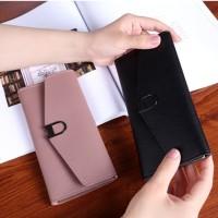 BEAU Dompet Panjang Wanita Import Batam Branded Kulit Quality FTS155