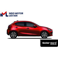 Kaca Film Full Set Solar Gard Premium Black Phantom Mazda 2 HB / Sedan