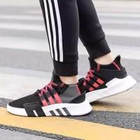 Sepatu Adidas EQT Bask ADV - Black Grey Red White Original Premium