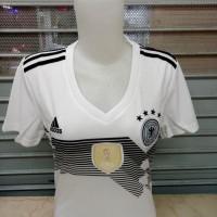 Hot Produk Kaos Baju Jersey Jerman Home Cewek Piala Dunia 2018 Grade