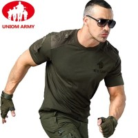 Army T Shirt Military Tshirt Style Tactical T-shirt Urban Men's Green