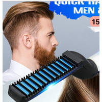 Head Massager Comb Quick Hair Styler for Men Aolvo Pro Curling Iron
