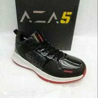 Sepatu Basket Ardiles Aza Dbl Pride black red