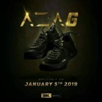 SALE !!!! Sepatu basket DBL PRIDE ARDILES Aza 6 All black/Gold