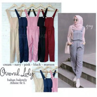 70 JUMPSUIT KODOK FIT L baju dress wanita