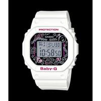 Baby G Analog Digital Jam Wanita Karet Putih BGD-560SK-7 Original