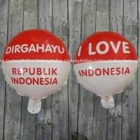 Balon Dirgahayu RI / Balon 17 Agustus / Balon HUT RI/ Balon Foil Bulat
