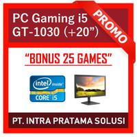 PC Gaming Lengkap i5 + Nvidia + LED 20 (Siap Pakai + Bonus Games)