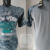 Baju Kaos UnderArmour NEW YORK YANKEES Regular Fit Base Ball Not Slim