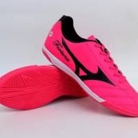 New Sepatu Futsal Mizuno Fortuna Hitam Hijau Original Vietnam 38-44