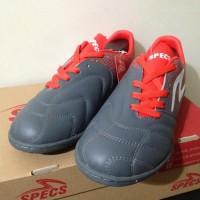 New Sepatu Futsal Specs Equinox In Dark Granite Red 400771 Original
