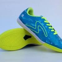 New Sepatu Futsal Specs Barricada Ultima Biru Hijau Original Premium