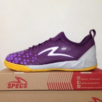 New Sepatu Futsal Specs Metasala Knight Plum Purple 400734 Original