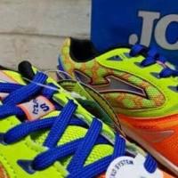 New Sepatu Futsal Joma Salamax Orange-Green Smaxw.608.In Berkuwalitas