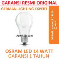 OSRAM Lampu LED 14W Bohlam 14 w watt Putih Bulb 14watt bkan philips 12