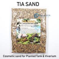 TIA SAND - Pasir Cosmetic untuk aquascape aquarium - Kemasan 1 KG