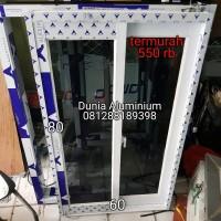 Jendela Sliding Aluminium L60 x T80