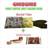 Ready PAKET BANTAL ANTI PEYANG KULIT KACANG HIJAU