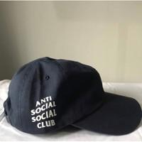 Topi Anti Social Social Club Navy Original ( ASSC CAP ORIGINAL 100%)