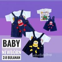 Baju Kodok Bayi Lucu Pakaian Baby Baru Lahir Newborn Laki Perempuan An