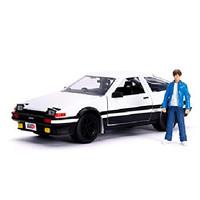Jada Hollywood Rides 1/24 1986 Toyota Trueno AE86 w/Takumi Figure