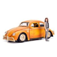 Jada Hollywood Rides 1/24 Transformer VW Beetle w/Charlie