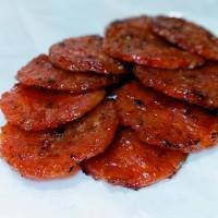 500Gr Bak Kwa Coin (Banly Hiong) ~ Dendeng Babi SG / BBQ Pork Jerky
