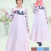 baju muslim anak perempuan fila Murah