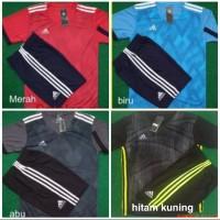 Setelan Ad*das N*ke Dewasa Baju Celana Olahraga Futsal Sepak Bola Lari